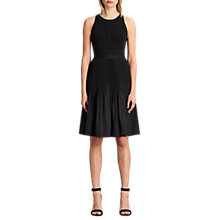 Buy AllSaints Etta Skirt, Black Online at johnlewis.com