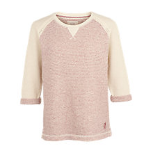 Buy Fat Face Padstow Cotton Crew Neck Sweatshirt, Sienna Online at johnlewis.com