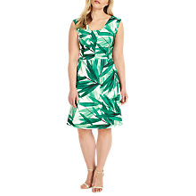 Buy Studio 8 Thea Dress, Green/Ivory Online at johnlewis.com