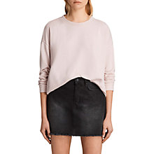 Buy AllSaints Coni Loop Sweatshirt Online at johnlewis.com