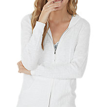 Buy Fat Face Beth Textured Hoodie Online at johnlewis.com