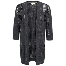 Buy Fat Face Olivia Open Stitch Cardigan Online at johnlewis.com