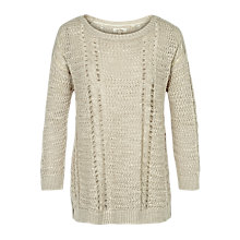 Buy Fat Face Polly Pointelle Jumper Online at johnlewis.com