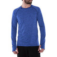 Buy Manuka Life Yoga Practice Sculpt Long Sleeve T-Shirt, Blue Online at johnlewis.com