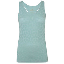 Buy Manuka Life Racer Yoga Top, Green Online at johnlewis.com