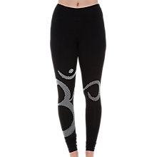 Buy Manuka Life Om Yoga Leggings, Black/White Online at johnlewis.com