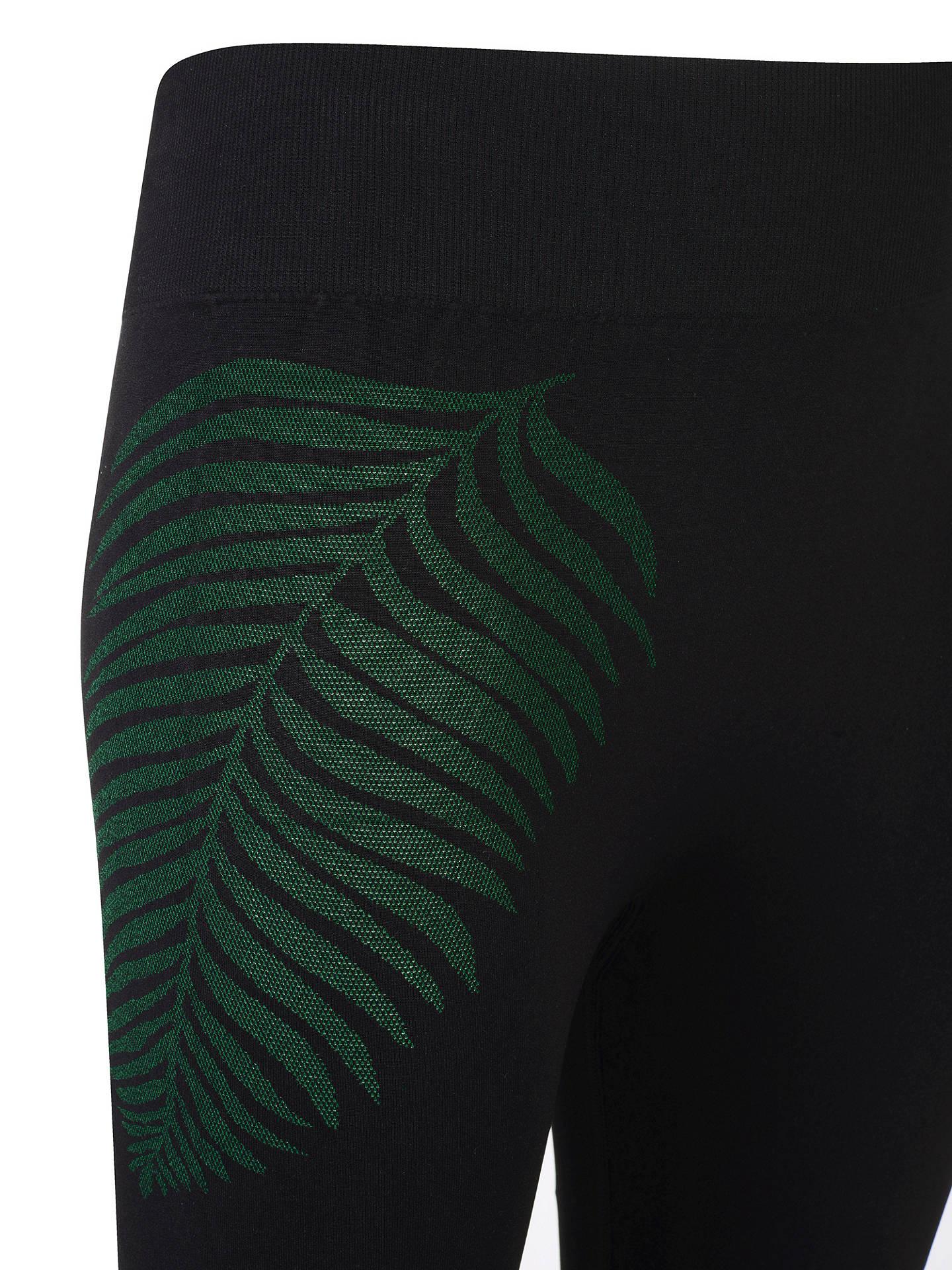 ec99f33aeb ... Buy Manuka Life Primary Leggings, Black/Green, XS/S Online at johnlewis  ...