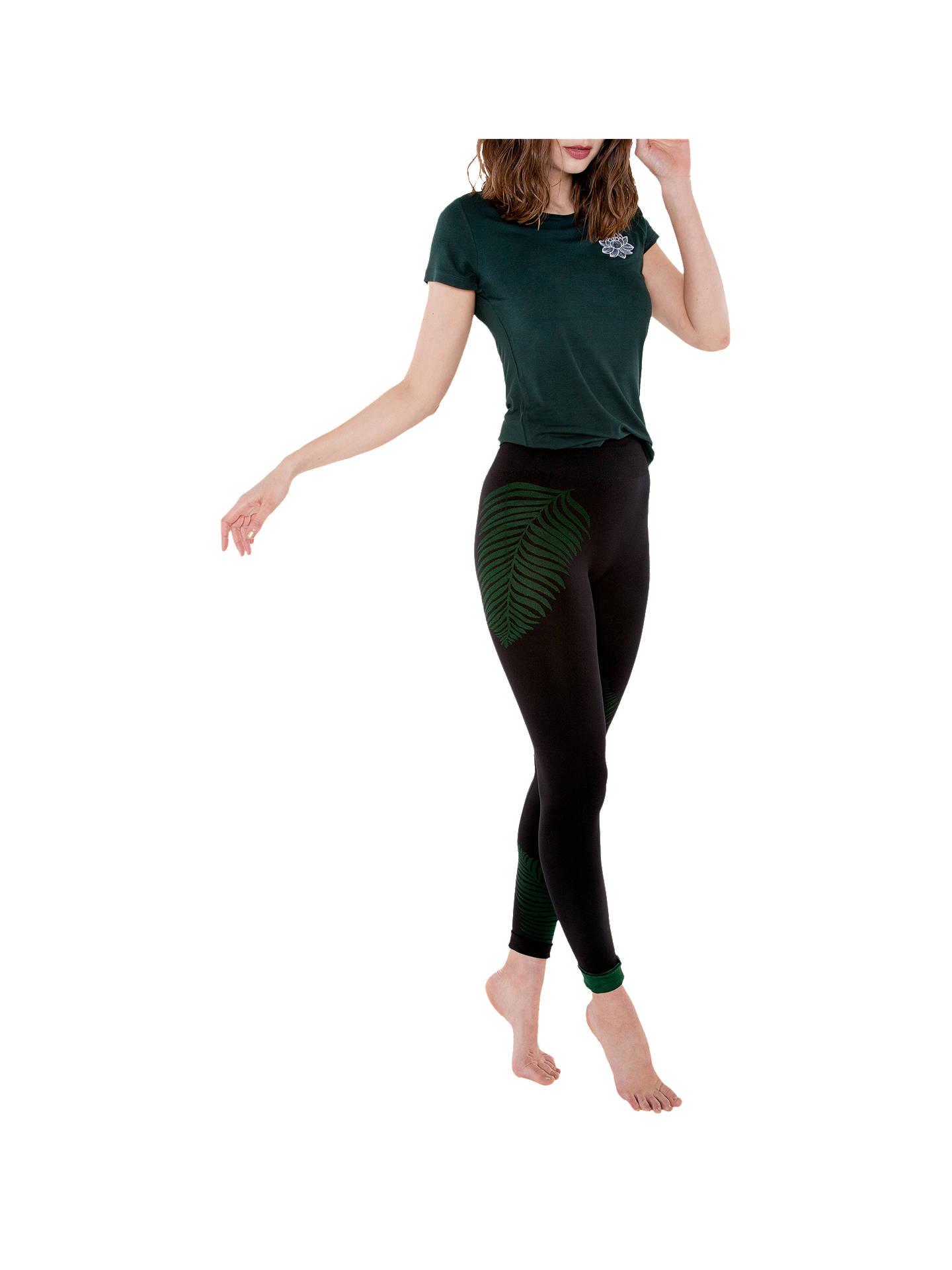 d1d07f1d0d ... Buy Manuka Life Primary Leggings, Black/Green, XS/S Online at johnlewis