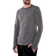 Buy M-Life Men's Sculpt Yoga Long Sleeve Top, Grey Online at johnlewis.com