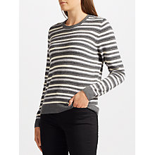 Buy Collection WEEKEND by John Lewis Cashmere Vintage Striped Jumper Online at johnlewis.com