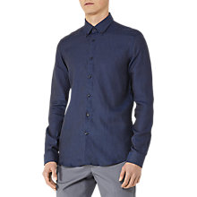 Buy Reiss Nicky Long Sleeve Linen Shirt Online at johnlewis.com