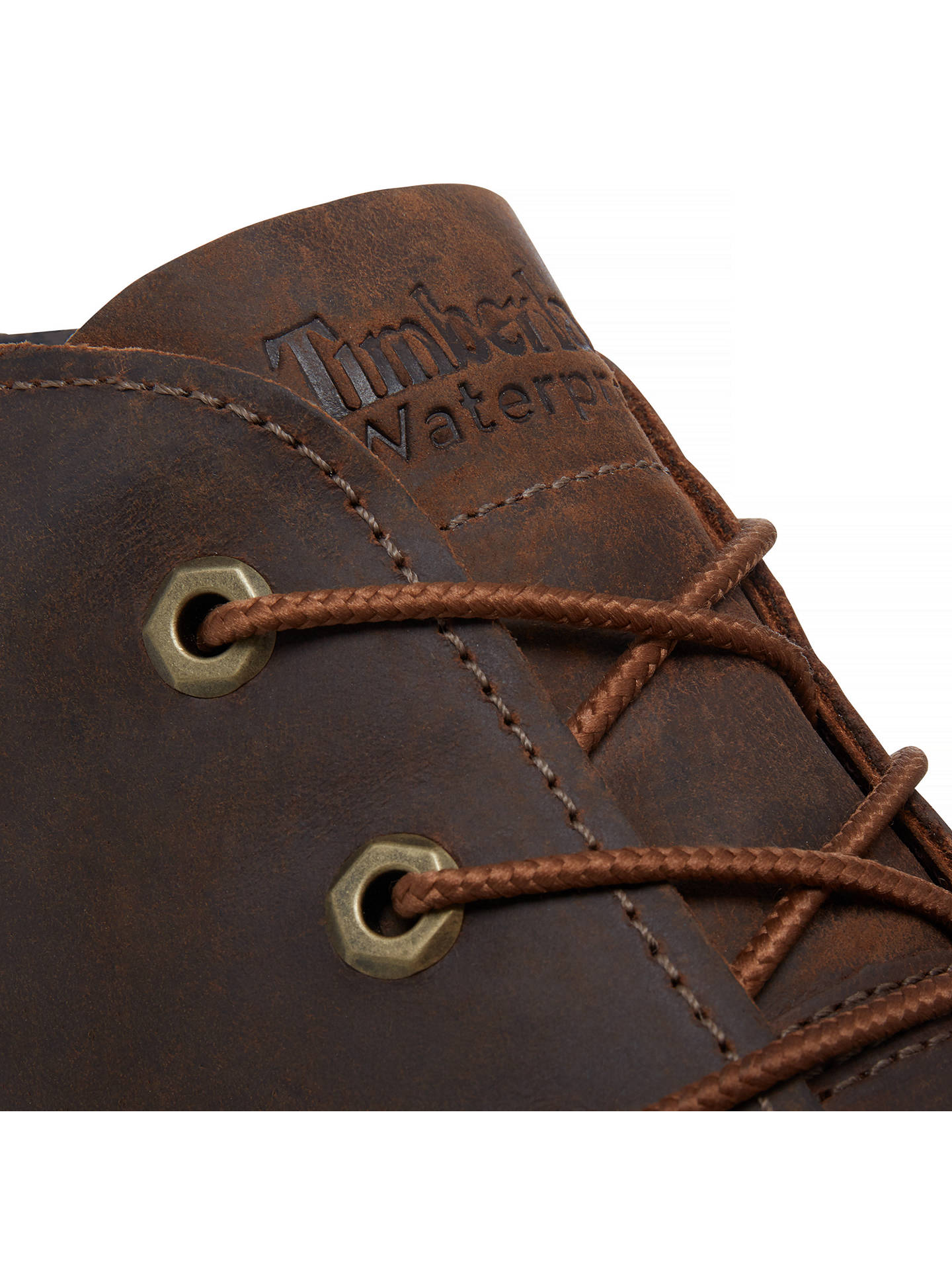 Buy Timberland Larchmont Waterproof Chukka Boots, Dark Brown, 7 Online at johnlewis.com