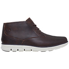 Buy Timberland Bradstreet Lace-Up Leather Chukka Boots, Brown Online at johnlewis.com