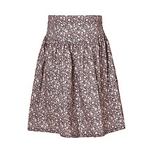 Buy Wheat Girls' Floral Woven Skirt, Honey Online at johnlewis.com