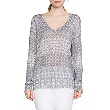 Buy East Ikat Linen Jumper, Limestone Online at johnlewis.com