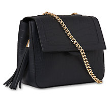 Buy Whistles Astrid Chain Across Body Handbag Online at johnlewis.com