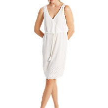 Buy White Stuff Lela Cutwork Nightdress, Sea Shell Online at johnlewis.com