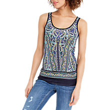 Buy Oasis Thelma Print Vest, Multi Online at johnlewis.com
