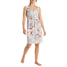 Buy White Stuff Lela Cutwork Printed Nightdress, Multi Online at johnlewis.com