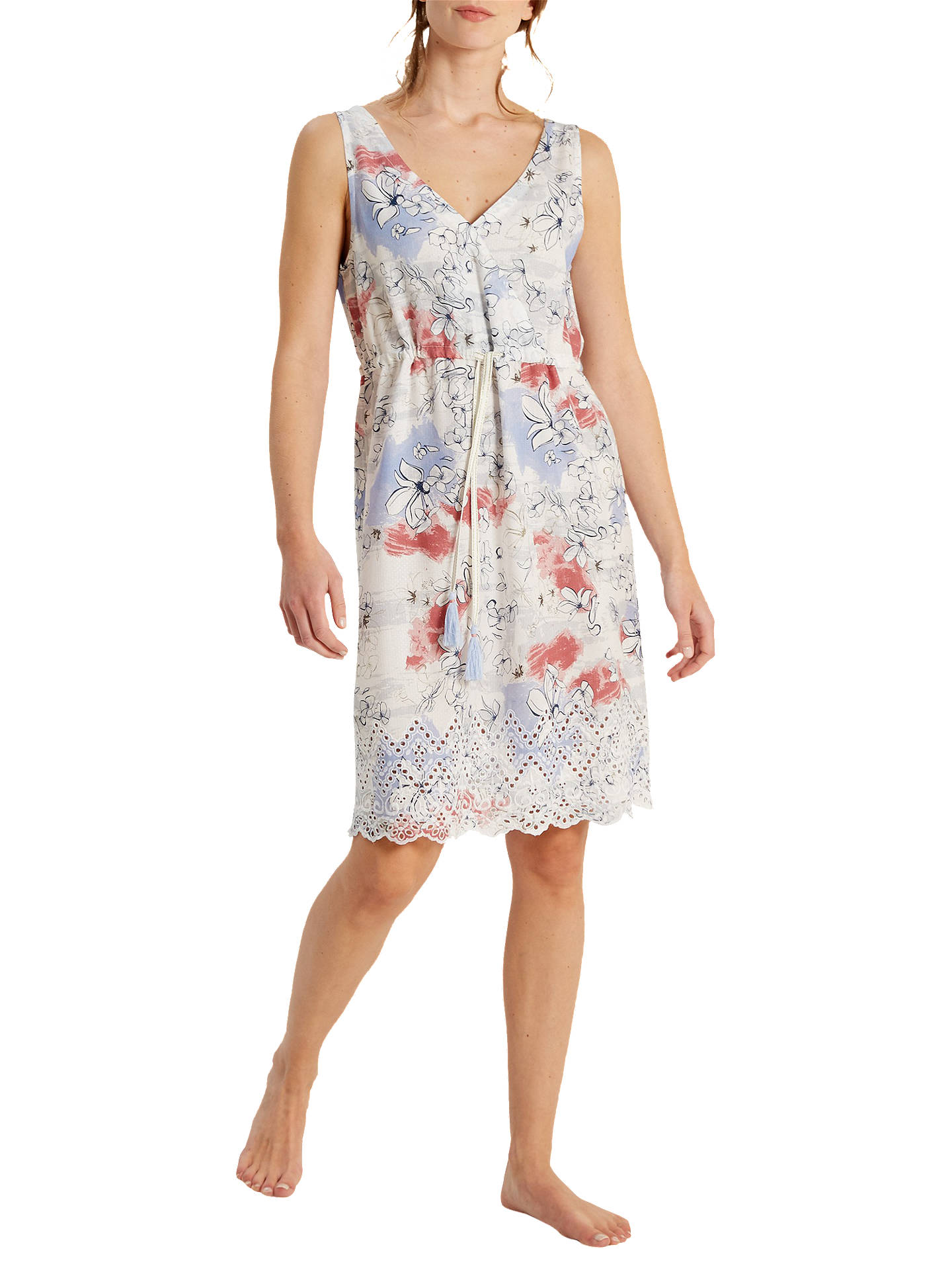 36954b0be8 BuyWhite Stuff Lela Cutwork Printed Nightdress