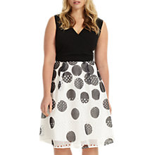 Buy Studio 8 Tiggy Spotted Dress, Black/White Online at johnlewis.com