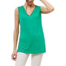 Buy Jaeger Jersey Side Split Detail Top, Mint Online at johnlewis.com