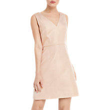 Buy Oasis Metallic Skater Dress, Gold Online at johnlewis.com