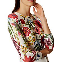 Buy Karen Millen Botanical Bloom Cardigan, Multi Online at johnlewis.com