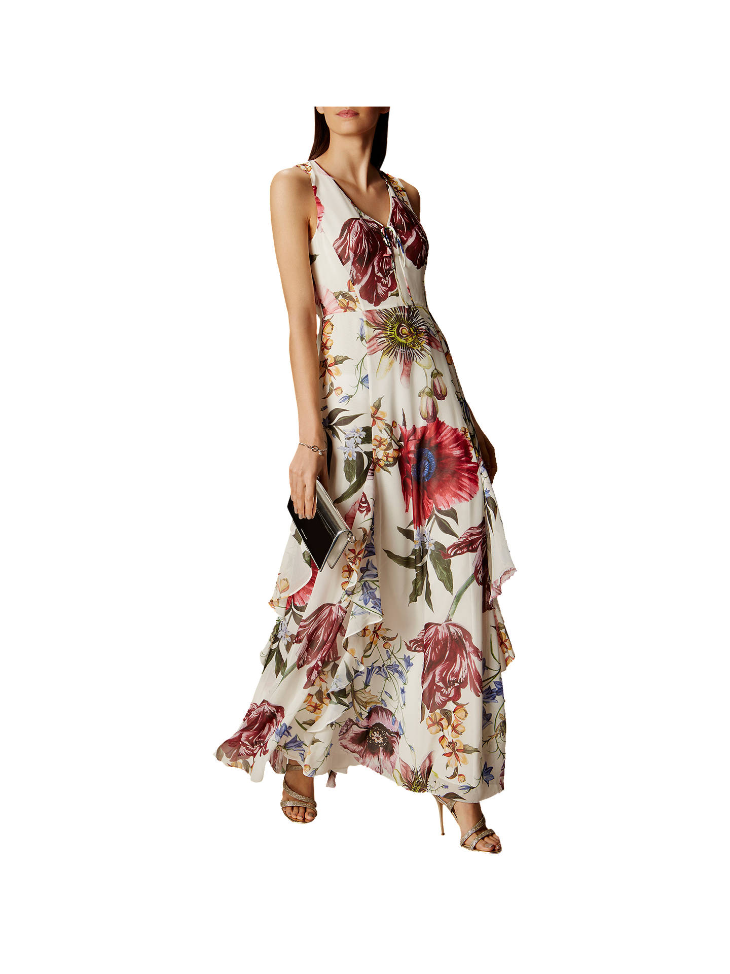 b00a81333966 BuyKaren Millen Botanical Bloom Maxi Dress