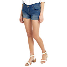 Buy Oasis Mille Denim Shorts, Denim Online at johnlewis.com