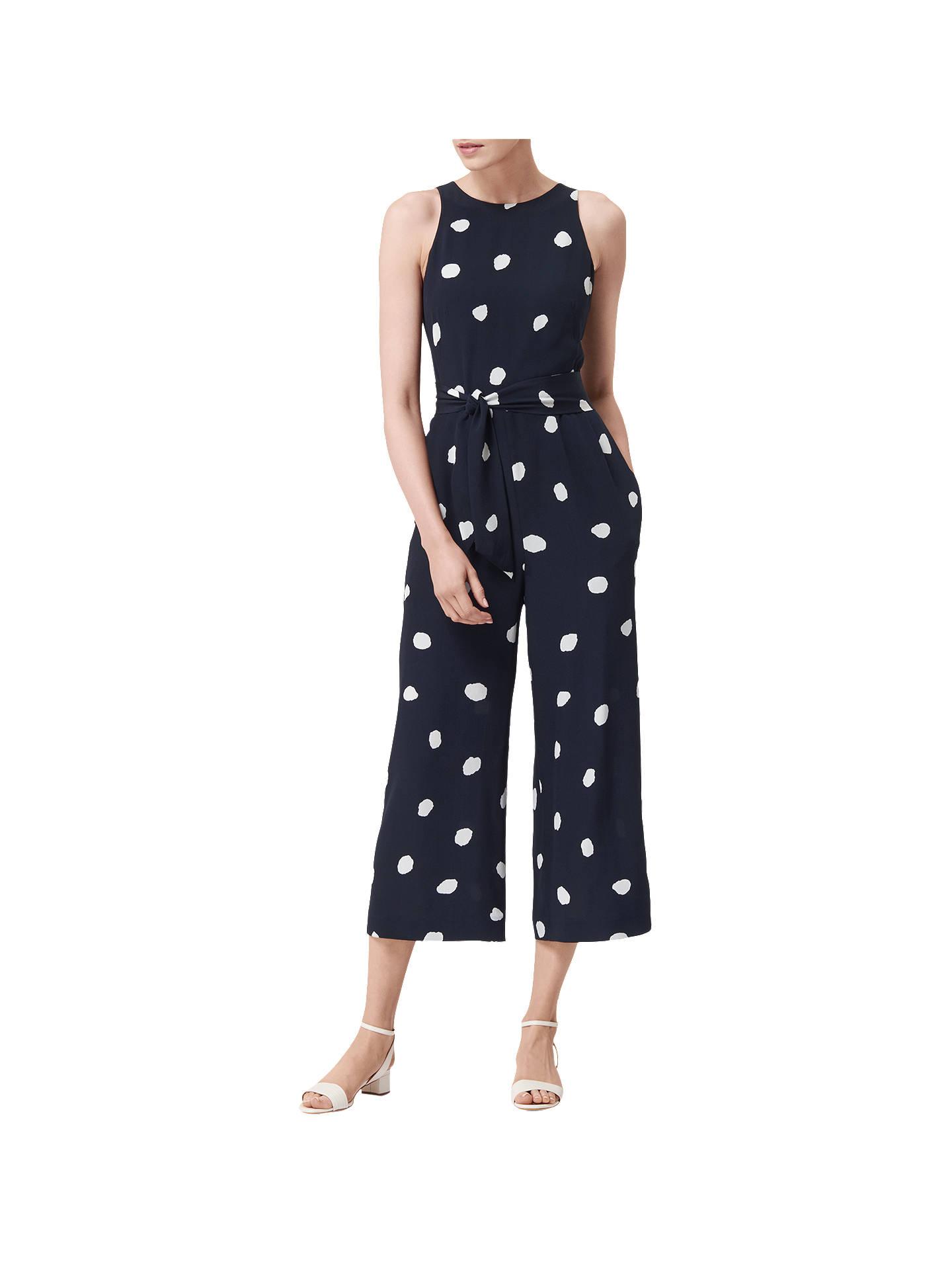 85a96d8c76 Buy L.K. Bennett Ella Spot Print Silk Jumpsuit