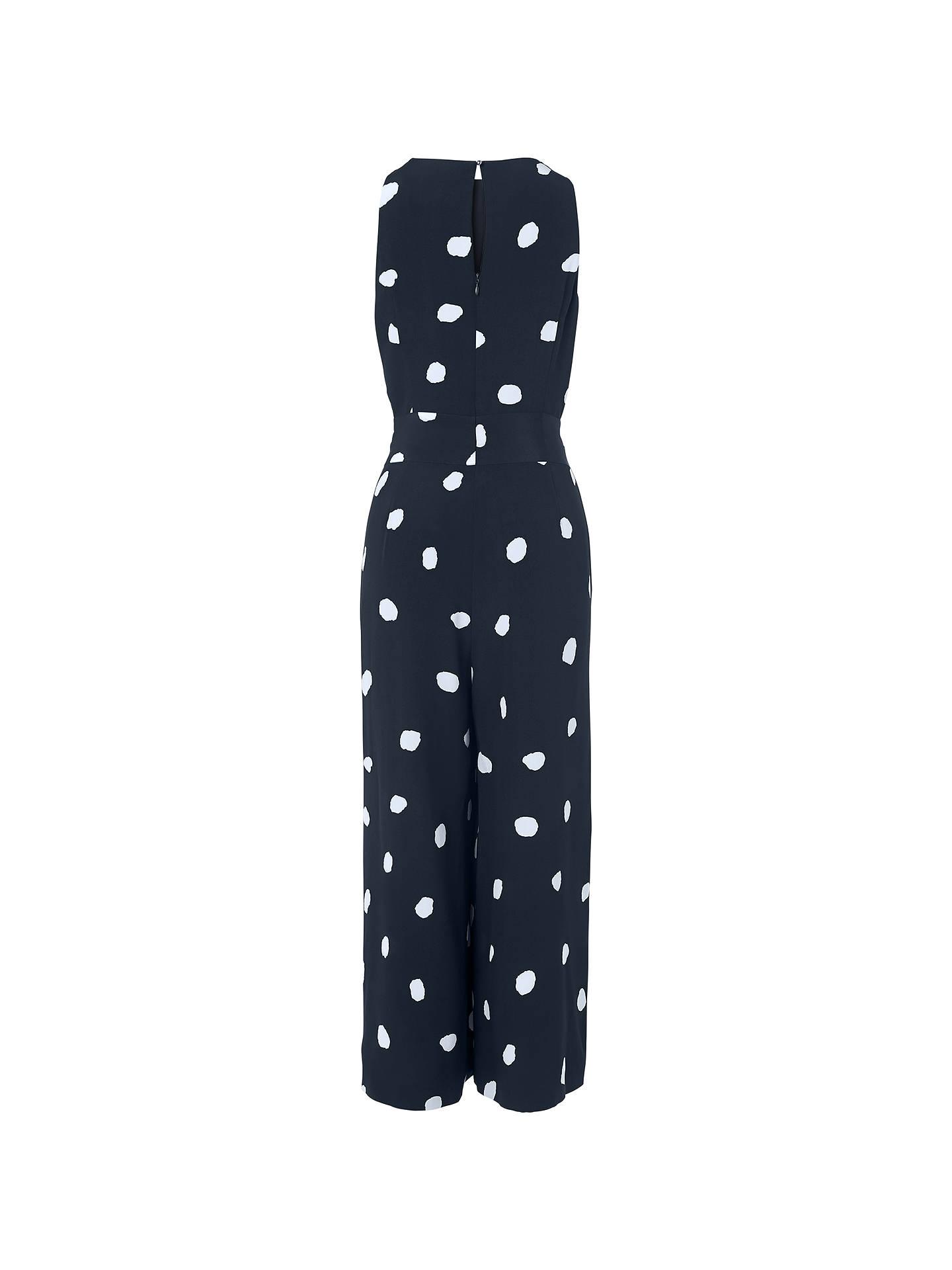68e83c8f13 ... Buy L.K. Bennett Ella Spot Print Silk Jumpsuit