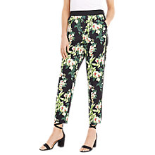 Buy Oasis Botanical Print Trousers, Multi Online at johnlewis.com