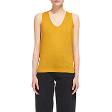 Buy Whistles Knot Back Linen Vest Online at johnlewis.com