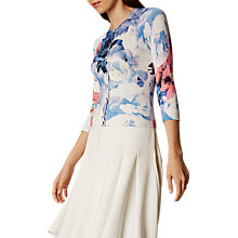 Buy Karen Millen Oversized Bloom Cardigan, Multi Online at johnlewis.com