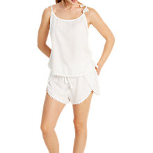 Buy White Stuff Harmony Summer Lounge Shorts, Sea Shell Online at johnlewis.com