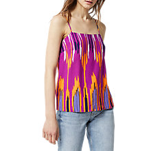 Buy Warehouse Rainbow Ikat Cami Online at johnlewis.com