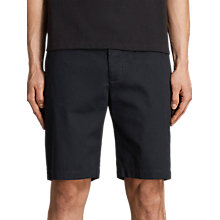 Buy AllSaints Cobalt Cotton Shorts Online at johnlewis.com