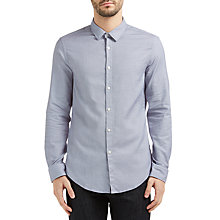 Buy BOSS Green C-Bersh Slim Fit Shirt, White Online at johnlewis.com