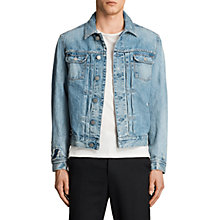 Buy AllSaints Idaho Denim Jacket, Indigo Blue Online at johnlewis.com