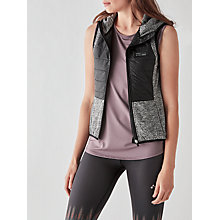 Buy ONLY PLAY Tamica Hooded Bodywarmer, Dark Grey/Black Online at johnlewis.com