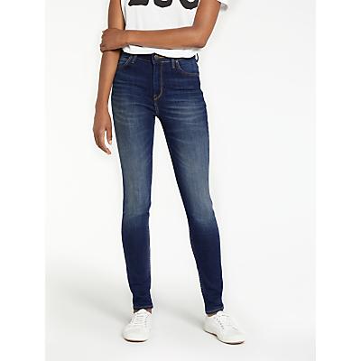 Lee Scarlett High Waist Skinny Jeans, Trashed Indigo