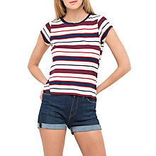 Buy Lee Stripe T-Shirt, State Blue Online at johnlewis.com