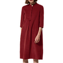 Buy Toast Needlecord Tunic Dress, Boysenberry Online at johnlewis.com