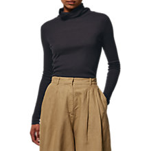 Buy Toast Fine Wool Tencel Polo Neck Top Online at johnlewis.com