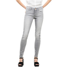 Buy Lee Scarlett Regular Waist Skinny Jeans, Summer Grey Online at johnlewis.com