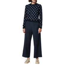 Buy Toast Soft Wool Workwear Trousers, Dark Navy Online at johnlewis.com