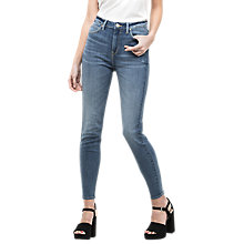 Buy Lee Scarlett High Waist Cropped Skinny Jeans, Light Urban Indigo Online at johnlewis.com
