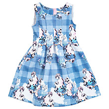 Buy Angel & Rocket Girls' Willow Floral Scuba Dress, Multi Online at johnlewis.com