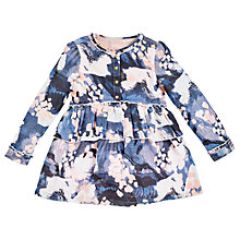 Buy Angel & Rocket Kitty Abstract Printed Peplum Dress, Blue/Multi Online at johnlewis.com